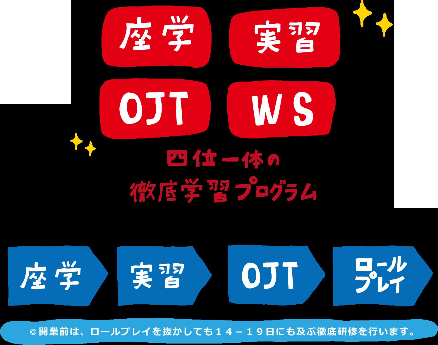 KDPの強み③「スタッフ教育プログラム」